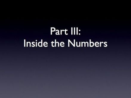 INSIDE THE NUMBERS
